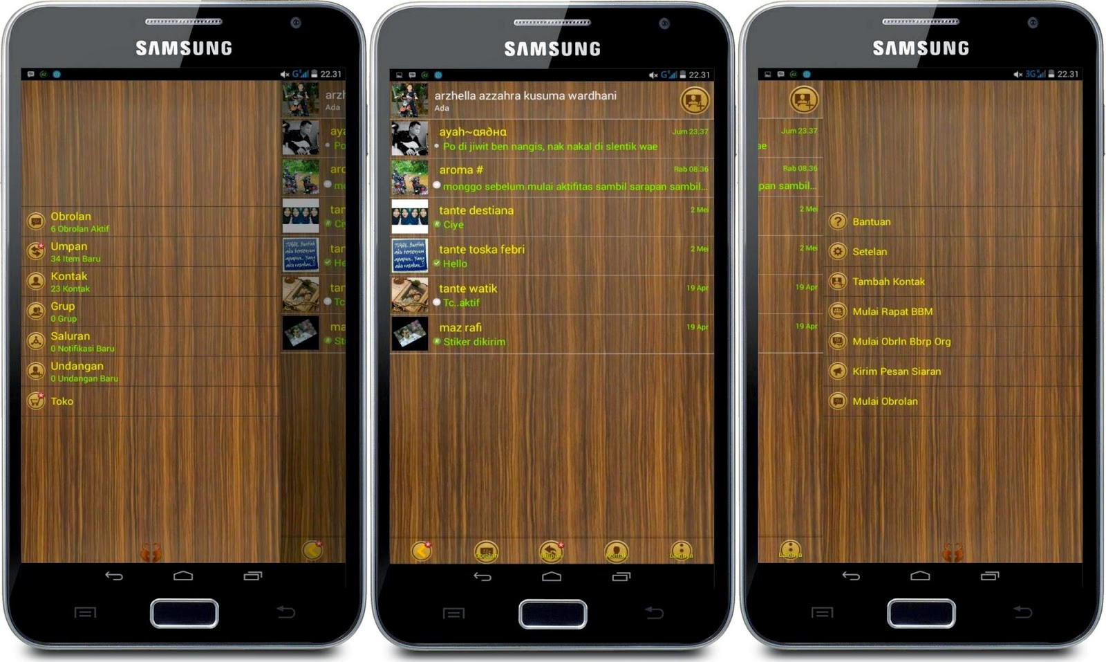 Download BBM Mod Terbaru Mei 2015 Syamlan Game Android